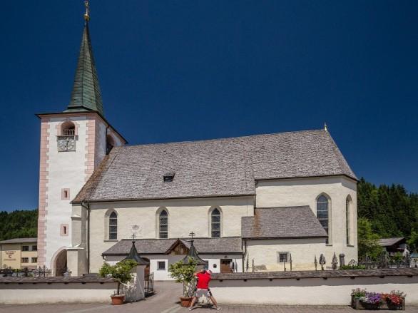 Kraftplatzwanderungen Filzmoos - Naturhotel Hammerhof, SalzburgerLand - kraftplatz wallfahrtskirche