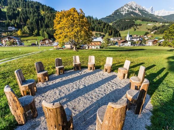 Kraftplatzwanderungen Filzmoos - Naturhotel Hammerhof, SalzburgerLand - kraftplatz magischer Sesselkreis