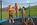 Herbstferien, Österreich, Salzburg, salzburger land, filzmoos - Hammerhof1-kinder auf trampolin